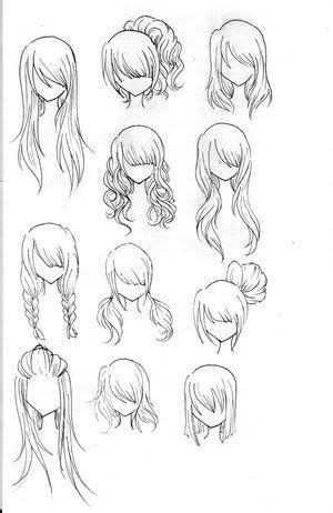 anime hairstyles curly how to draw anime hairstyles for girls anime girl