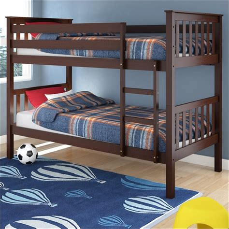 cheap bunk beds twin over full elegant twin over full bunk bed walmart badotcom com