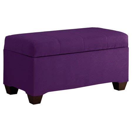 Minna Storage Ottoman In Purple Dream Furniture Pinterest Storage Ottoman Purple