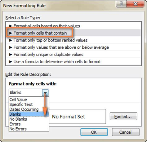 excel 2007 conditional format blank cells excel vba conditional formatting stop if true excel add