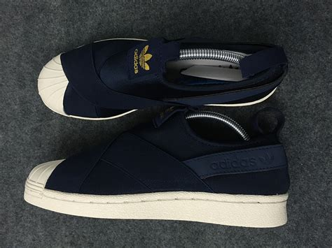 Adidas Neo Slip On Pria Navy Made In 100 Baru 3 adidas superstar slip on navy blue los granados apartment