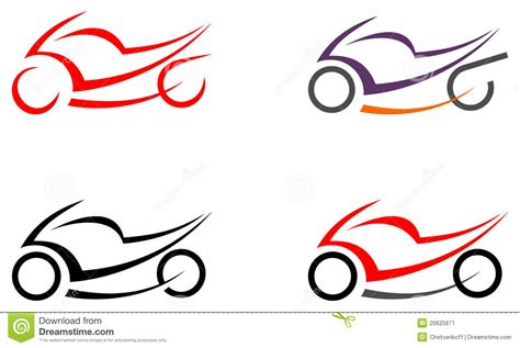 motorbike motorcycle image tattoo stock vector