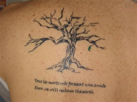 back of shoulder tattoo back shoulder tree tattoos