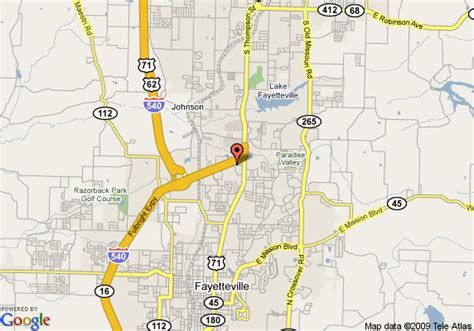 us map fayetteville arkansas map of fairfield inn by marriott fayetteville arkansas