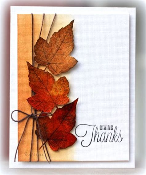Handmade Thanksgiving Cards - 289 best thanksgiving cards images on autumn
