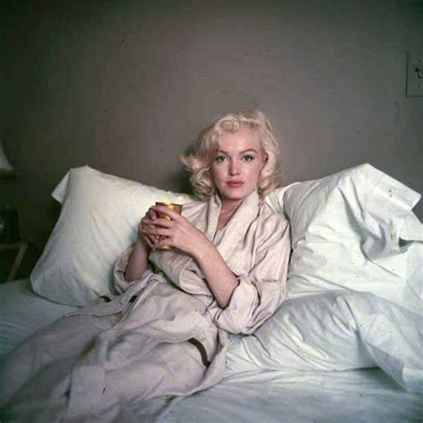 marilyn monroe bed marilyn bed sitting photo by milton greene 1953