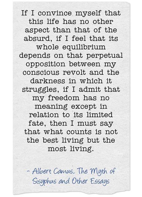 Albert Camus The Essay by 20 Best Ideas About Albert Camus Quotes On Camus Quotes Albert Camus And Albert