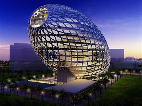 Shed In The World by Cybertecture Egg Building 10 Most Interesting Buildings