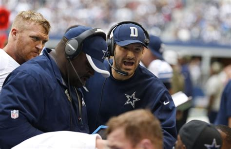 players bench dallas the dallas cowboys and tony romo in london to start or
