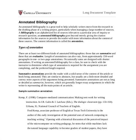 thesis abstract generator annotated bibliography free generator