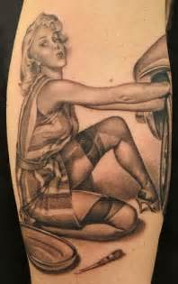 Mechanic Pin Up Tattoos Pin Up Girl Tattoo Top 30 Pin Up Designs From Around The