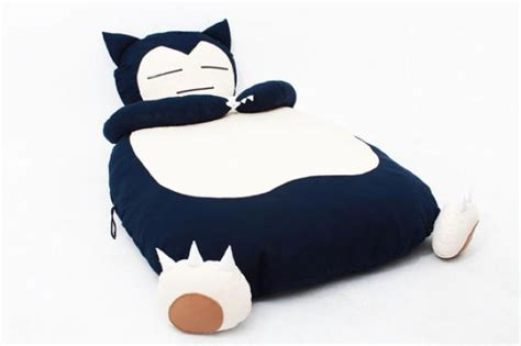 snorlax bed pikachu snorlax pok 233 mon beds i choose you