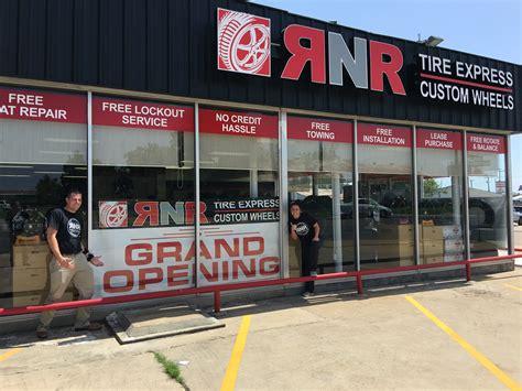 rnr tire express  custom wheel franchise opens  bryan texas