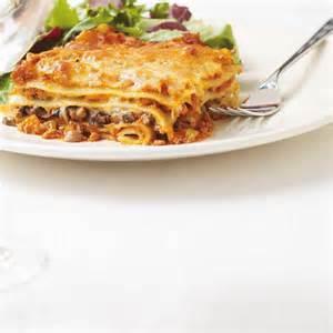 lasagne bolognaise aux chignons ricardo