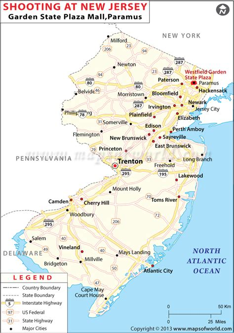 Garden State Mall Nj Map Shooting Incident In New Jersey Mall 5th November 2013