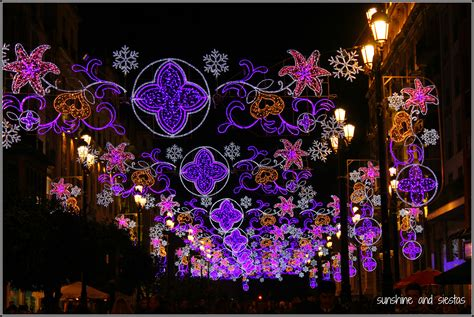Christmas Light Neighborhoods Christmas Lights In Seville Sunshine And Siestas An