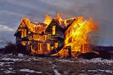 Burnig House by Living The Burning The House