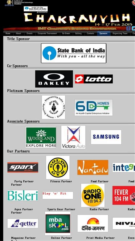 Companies That Sponsor Mba In India by Imt Ghaziabad Chakravyuh 2013 Mba Skool Study Learn