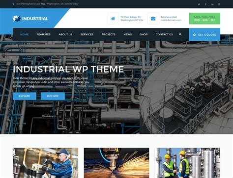 industrial theme 10 best industrial wordpress themes 2018 athemes