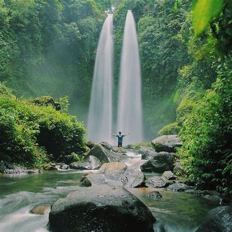 tempat wisata di indonesia tiu teja waterfall lombok