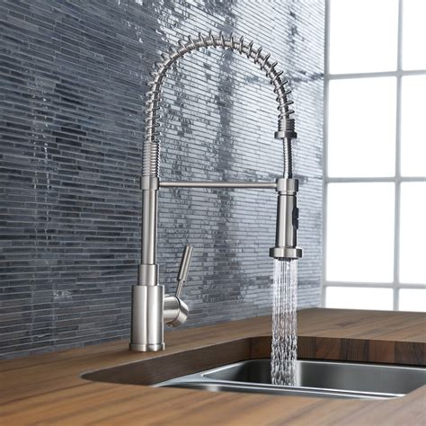 professional kitchen sink faucets how to choose a kitchen faucet design necessities
