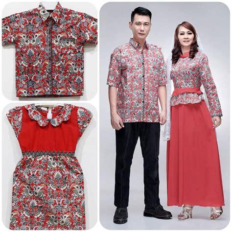 Batik Cantika jual batik keluarga sarimbit family baju pesta