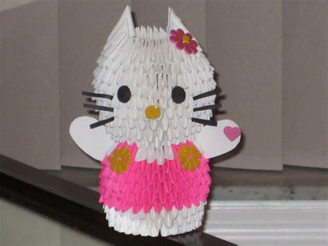 Hello 3d Origami - hello 3d origami by esmeraldaarribas on deviantart