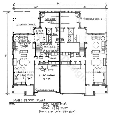 dual family house plans multi family house home floor plans design basics