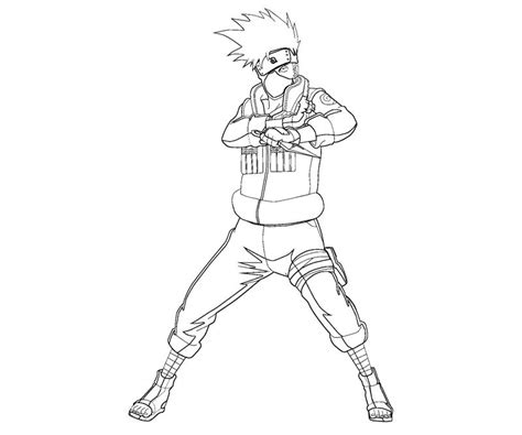 free coloring pages of kakashi and