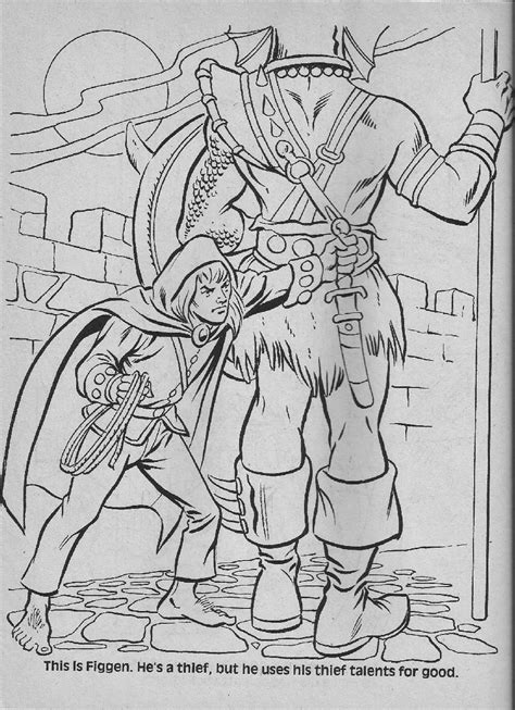 coloring pages dungeons and dragons dungeon and dragons cartoon coloring pages dungeon best