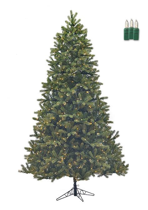 staylit christmas trees douglas fir green 4 5ft artificial tree staylit 174 clear lights