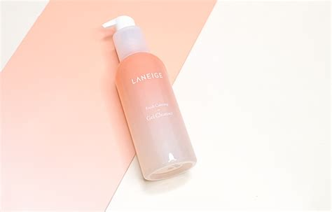 Laneige Fresh Calming Gel Clenaser laneige fresh calming line review reviews more cinddie