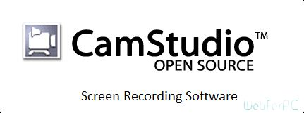software for recording from web camstudio free screen recording web for pc