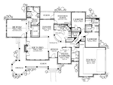 6 bedroom home plans 6 bedroom ranch house plans lcxzz 6 bedroom house plans in