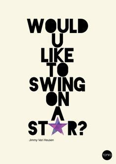 words to swinging on a star lyrics to would you like to swing on a star 28 images