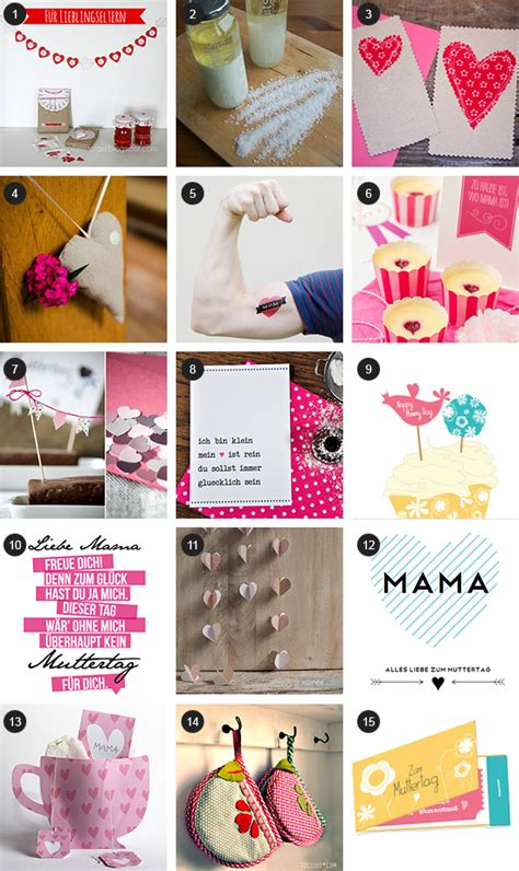 Diy Geschenke Muttertag by Diy Ideen Zum Muttertag Kreativlabor Berlin