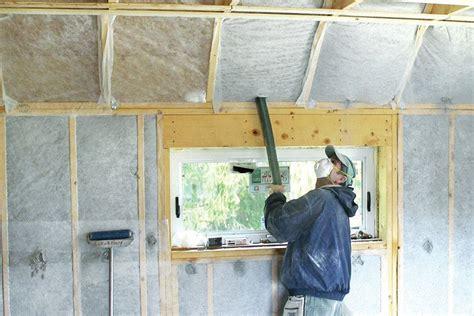 Insulating Cathedral Ceilings Jlc Online Ceilings How To Insulate Vaulted Ceiling
