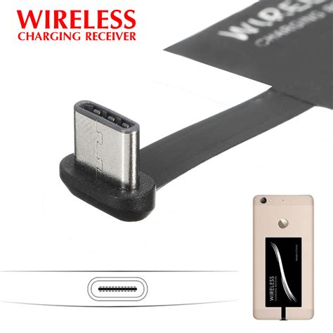 receiver samsung picture more detailed picture about usb usb type c qi standard wireless charger sticker receiver