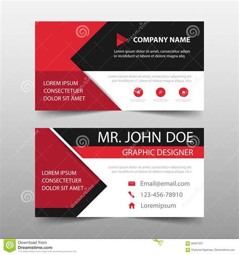 card banner template corporate business card name card template