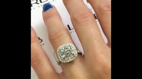 3 Engagement Ring by Cushion Cut Rings 3 Carat Www Pixshark