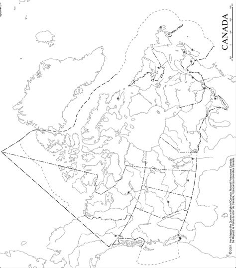 canadian map outline canada outline map