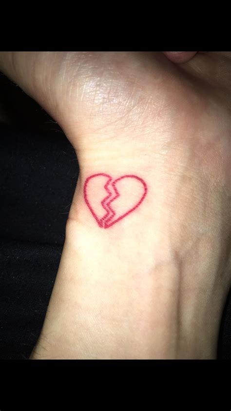 broken heart tattoo tattoo ideas