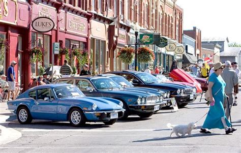 Port Perry Car by Classic Cars Cruise Into Downtown Port Perry