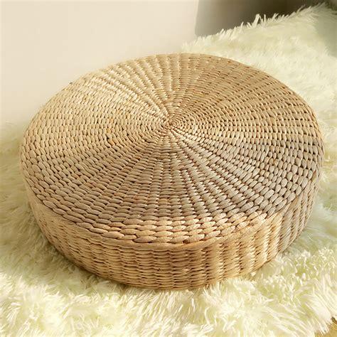 Raffia Floor Mats by 40cm Pouf Tatami Cushion Floor Cushions