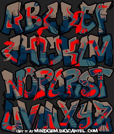 image  graffiti font gangster sandy maulana