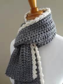 fiber flux free crochet pattern ingrid scarf