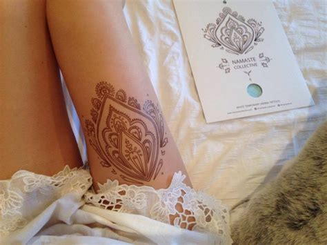 henna tattoo transfer designs buy brown henna transfer from namaste collective