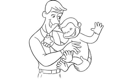 curious george coloring pages birthday 321 best images about birthday ideas on pinterest