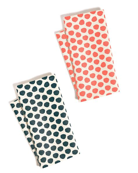 Black And White Polka Dot Bath Towels