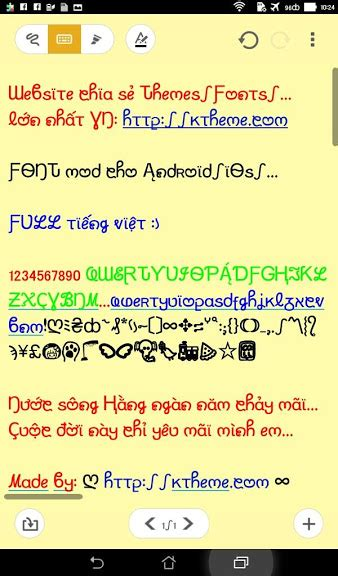 pretty fonts for android thủ thuật hướng dẫn c 224 i đặt font cho android tinhte vn